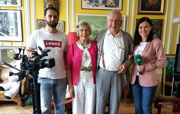 Тази неделя в bTV Репортерите: Благородно семейство приютява безвъзмездно български студенти в Париж от 30 г.