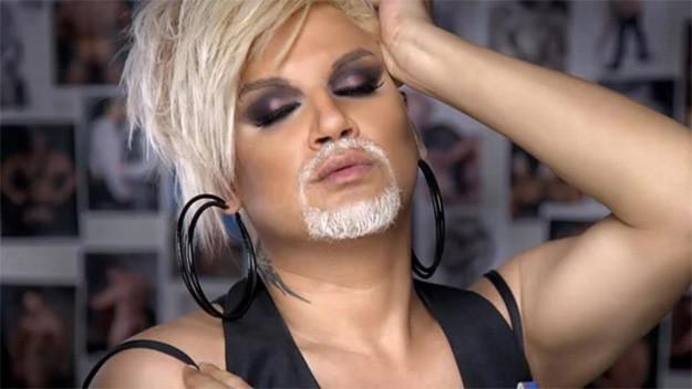 Азис въведе модата на брадатата жена преди Кончита Вурст