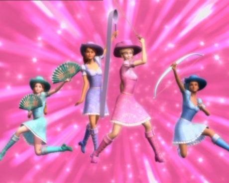 Барби и трите мускетарки