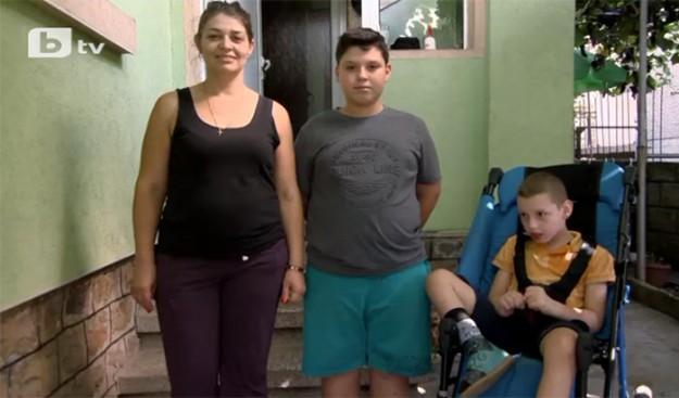 """""""Бригада Нов дом"""" преобрази жилището на самотна майка на дете с церебрална парализа"""