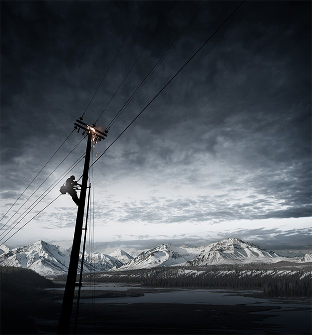 Електричество и лед