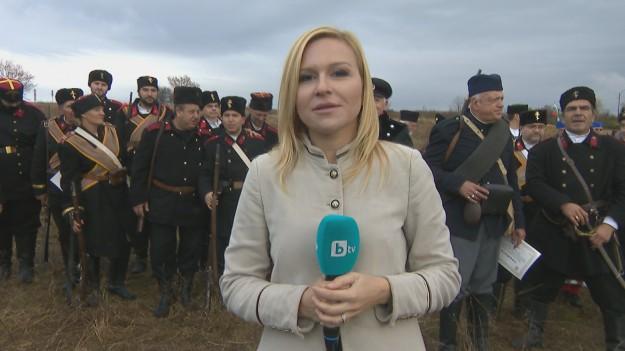Пресъздаването на славните победи от българската история в bTV Репортерите тази събота