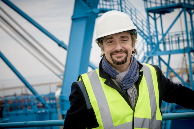 Ричард Хамънд изследва едни от най-огромните структури в света по Discovery Channel 