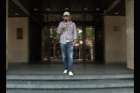 """Музикантът Кристиян Коев - """"Златната флейта"""" репортерства за Нова ТВ"""