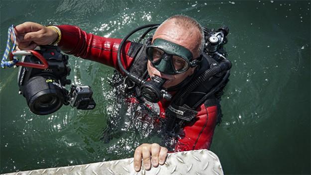 """Ладислав Цветков отвежда зрителите на """"мисия археология под вода"""""""