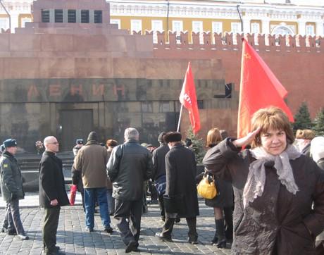 """Марта Вачкова и """"Жените""""на посещение в Москва"""