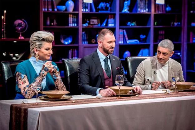 Chef Андре Токев, Chef Петър Михалчев и Chef Силвена Роу