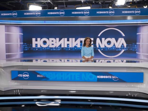 Късните Новини на NOVA с нов час на излъчване