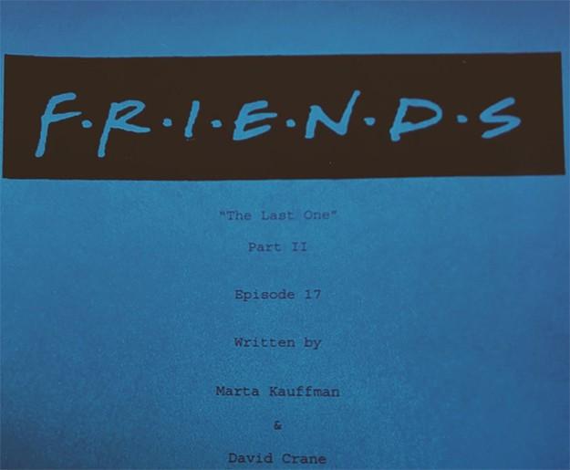 """Кортни Кокс сподели снимка, направена преди снимките на финала на """"Приятели"""""""