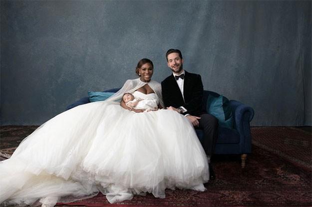 Вижте снимки от сватбана на Серина Уилямс и  Алексис Оханян