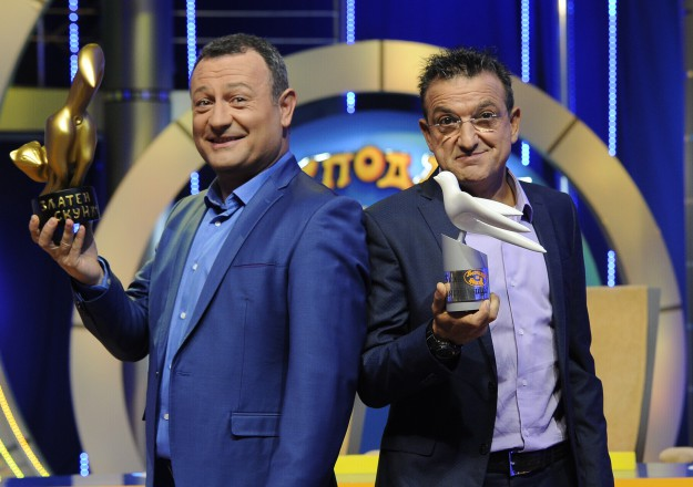 """Димитър Рачков и Васил Василев- Зуека отново заедно в """"Господари на ефира"""""""
