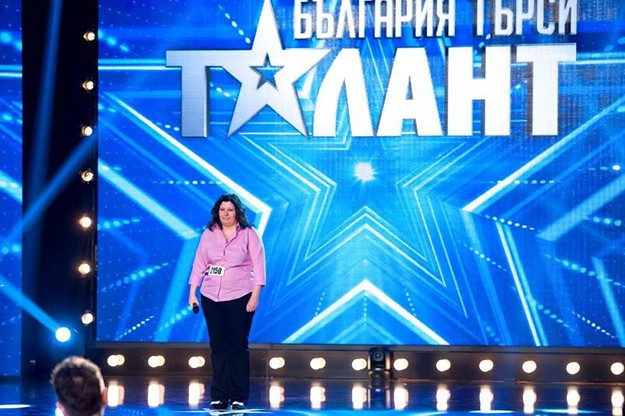 """""""България търси талант""""."""