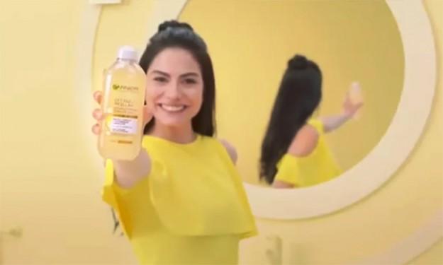 Демет  в реклама на Garnier