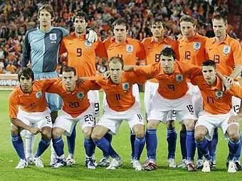 ЕВРО 2008, Холандия