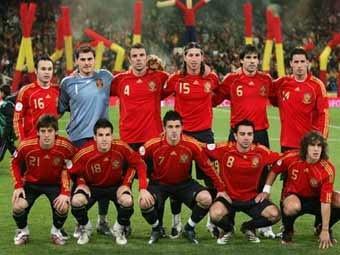 ЕВРО 2008 - финал, Испания