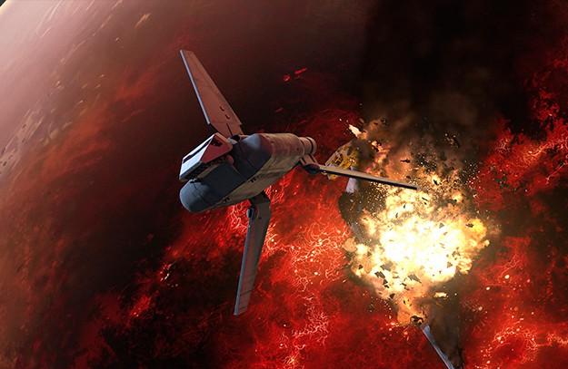 """""""Междузвездни войни Бунтовниците"""" - """"Огън в галактиката"""""""