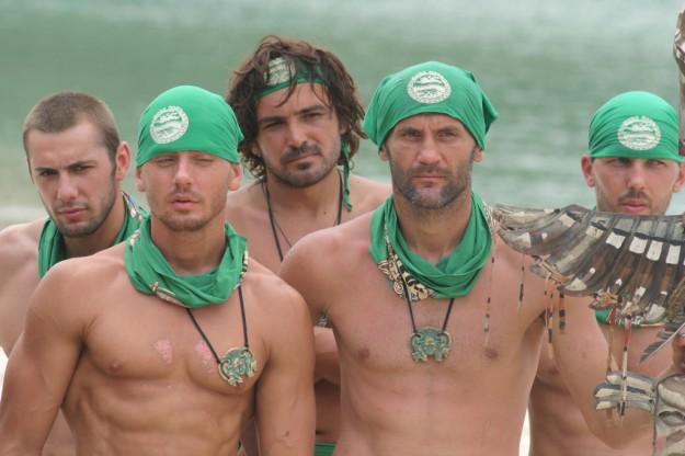 Мъжки племенен съвет в Survivor