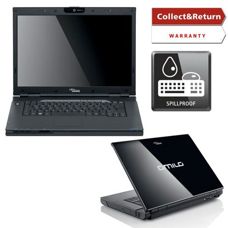 Двуядрен Лаптоп Fujitsu