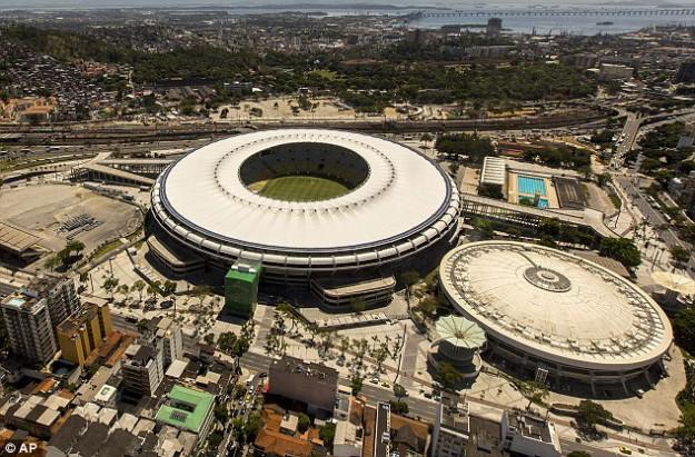Маракана, Бразилия 2014 световно по футбол по БНТ