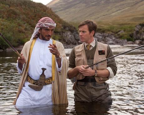 Риболов в пустинята