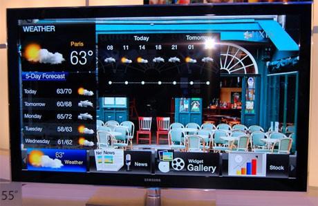 В интернет с LED телевизорите от Samsung