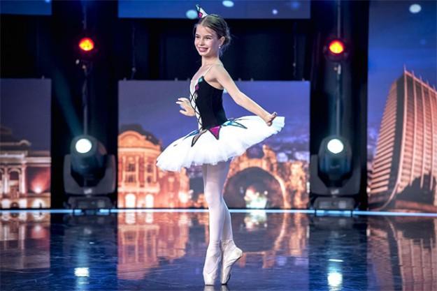 9-годишната балерина Стефани Николова