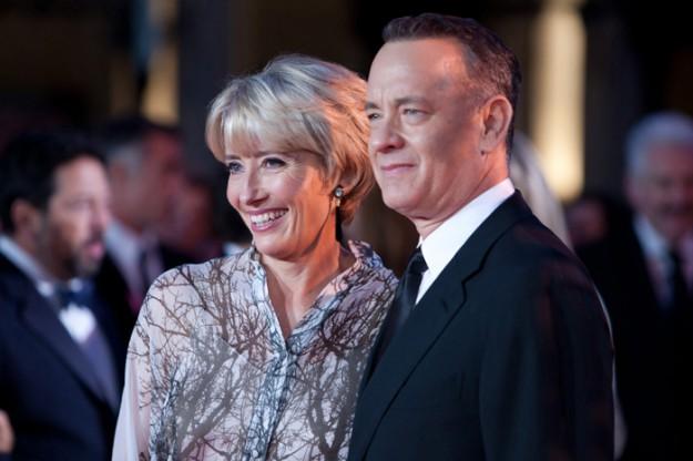 Том Ханкс и Ема Томпсън на премиерата на 'Спасяването на Мистър Банкс' в Лондон